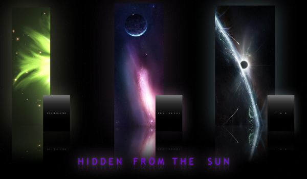 Hidden From the Sun by Space-Artists