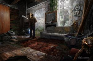 The last of us fan art. by padraven