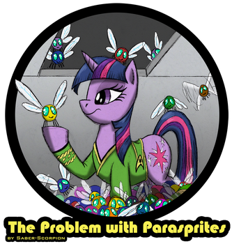 The Problem with Parasprites by Saber-Scorpion