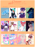 2017 summary of art! by irlnya