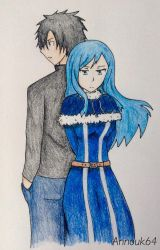 Gray and Juvia by Annouk64