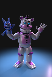 Funtime Freddy by WertyWertz