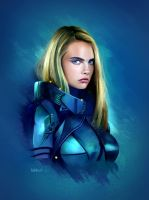 Valerian and the city of a thousand planets by Sebiji