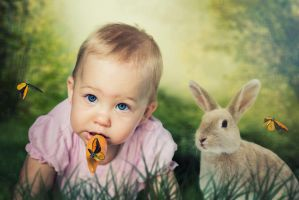 Girl with Carrot by WesterArt