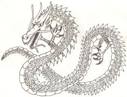 Asian Dragon 2 by Coelophysis83