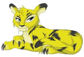 Neopets - Yzak_Jule the Kougra by yzak