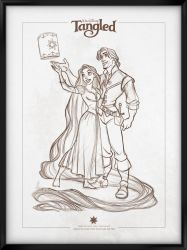 Walt Disney's Signature Collection - TANGLED by davidkawena
