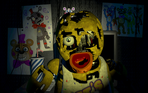 Scrap Chica Jumpscare by Dav-oo
