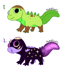 Even moar gecko adopts (CLOSED) by CatsandStyooth