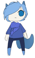 Blue Adopt - 5 points - [CLOSED] by GlossyAdopts