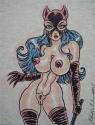 CATWOMAN SKETCH CARD sold by siriguana