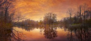Creek .04 Panorama by asetix