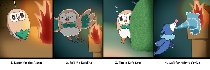 Alolan Fire Safety by ErinPrimette