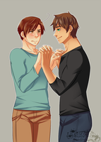 30 Day OTP Challenge - Day 1 - Holding Hands by XxDramatizationxX