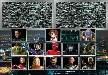 Marvel Super Heroes Character Select (MCU Version) by TheGamerLover