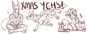 Christmas YCH's! /CLOSED by loriLUNACY