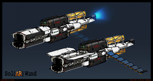 Belter Mining Vessel by Daemoria