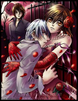 Vampire Knight Pluck the Rose by Amelie-ami-chan