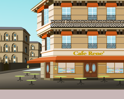 Cafe background by Vector-Brony