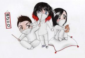 chibi 30 seconds to mars by AsheriaWorkshop