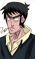wolfwood quickie sketch by hanzthebox
