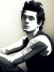 John Mayer by iReap