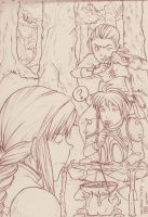 Shhh - Final Fantasy Tactics by jingster