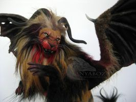 Malicious Manticore Room Guardian FOR AUCTION by AnyaBoz