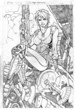 Art by Ric by Ed-Benes-Studio