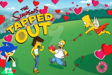 Lorcan the Hedgehog LP The Simpsons Tapped Out C7 by LorcantheHedgehog