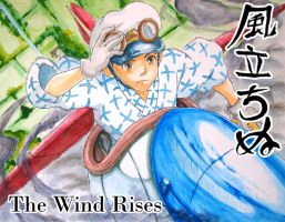 The Wind Rises by zetfer