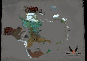 Angels' Power - World Map by Smirtouille