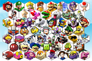 SSB4 Mario Series Roster by The-Koopa-of-Troopa