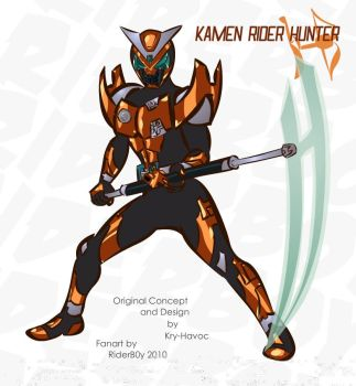 Kamen Rider: Hunter by Kry-Havoc