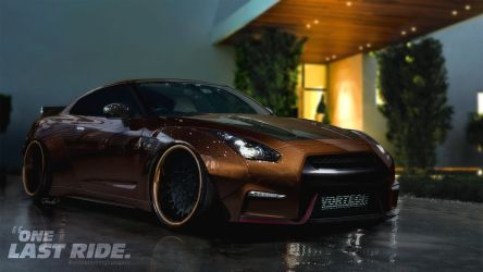 Nissan GT-R Choco Bunny by GoodieDesign
