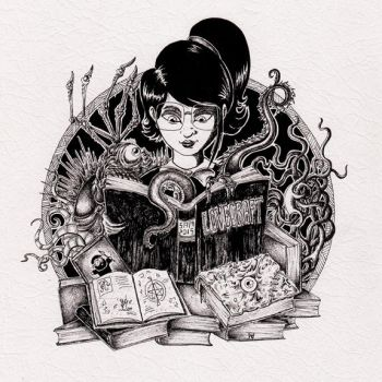 Lovecraft Books by inkarts