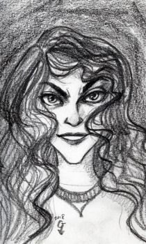 Bellatrix Lestrange by DiStDi
