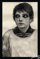 Gerard Way . The Patient by SoftSpirit118