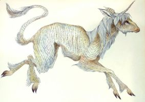 Prancing Unicorn by jessburnett