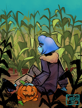 [SU] Lapis with Pumpkin! by Cootsik