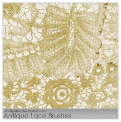 Antique Lace Brushes by Scully7491