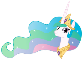 Vector - Confused Celestia by SketchMCreations