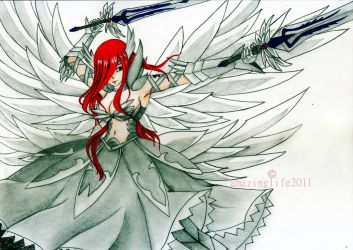 Erza Scarlet - FairyTail by amazinglife2011