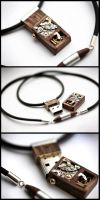 Mechanical Memory Pendant No2 by back2root
