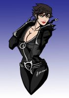 One Year Later Catwoman WIP by ADL-art