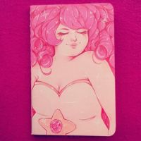 Rose Quartz sketchbook by StarsInMyCoffeee