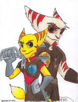 Brothers at arms by The-masked-ottsel
