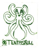 Tentaskull by Lunitaire
