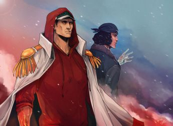 young admirals by Rukinda