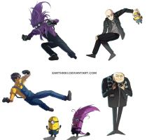 Despicable Me by EarthXXII